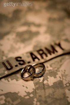 Wedding Rings Army Army Wedding Military Photography Army Love