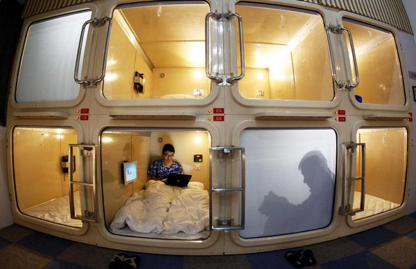 Would you stay at one of these crazy hotels?