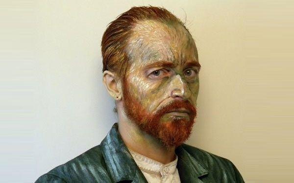 Diy Vincent Van Gogh Costume Mit Bildern Portrat Ideen