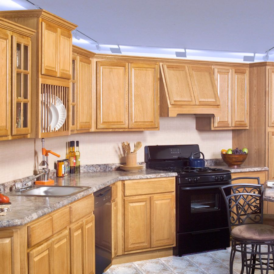 Country Oak Honey Traditional Kitchen Cabinets Cheap Kitchen Cabinets Oak Kitchen Cabinets