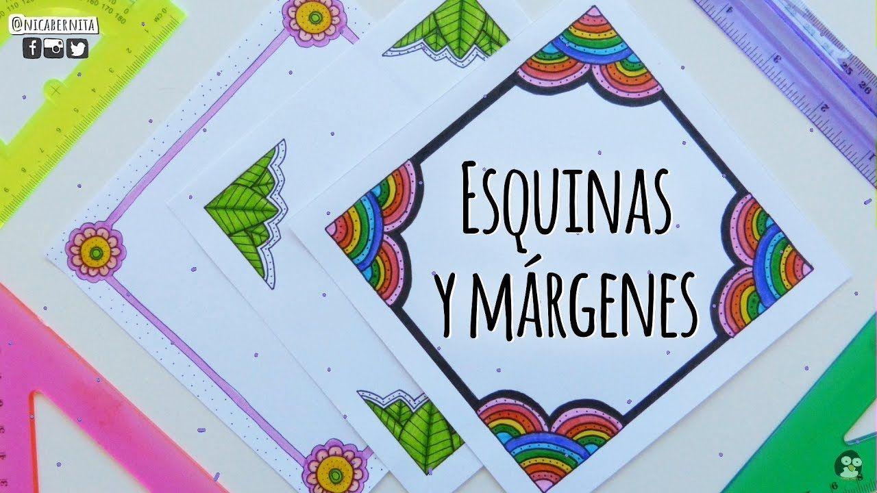 Como Hacer La Libreta De Dibujo De Marinetteprodigiosa: MRGENES PARA CUADERNOS Y BORDES PARA T