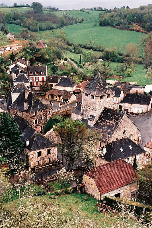 Sarrazac, Dordogne in the Aquitaine region...