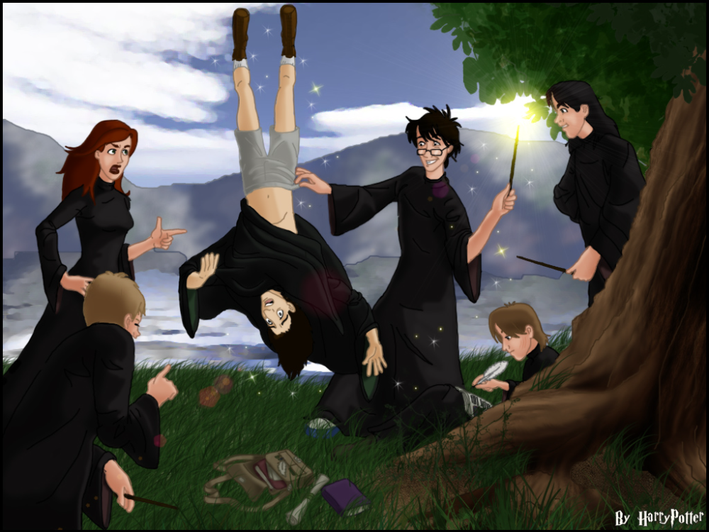 Snape's Worst Memory by Harry-Potter-Spain on DeviantArt