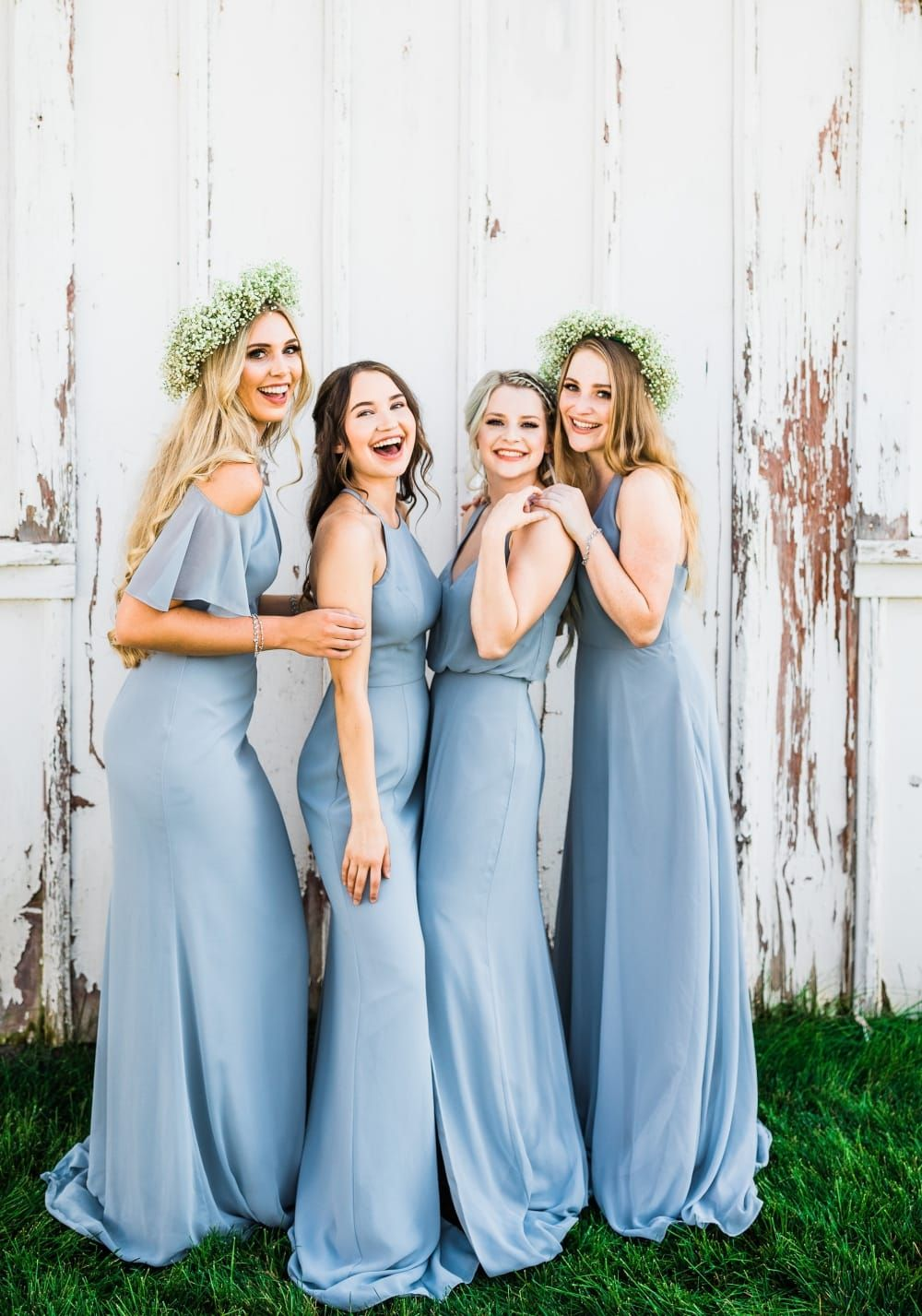 Light Blue Boho Style Affordable Dresses For Bridesmaids From Thread Bri Affordable Bridesmaid Dresses Inexpensive Bridesmaid Dresses Modern Bridesmaid Dresses