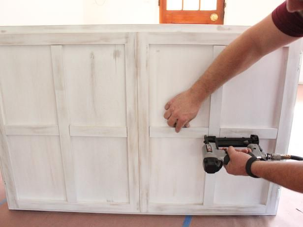 Turn A Kitchen Cabinet Into A Flat Screen Tv Cover Wall Mounted Tv Diy Kitchen Cabinets Diy Cabinets