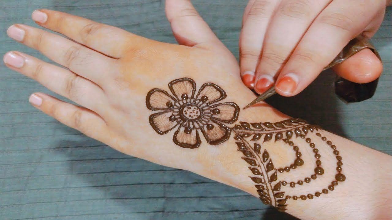 Easy Stylish New Mehndi Design 2019 Beautiful Flower Mehndi Design For New Mehndi Designs Mehndi Designs Henna Hand Tattoo