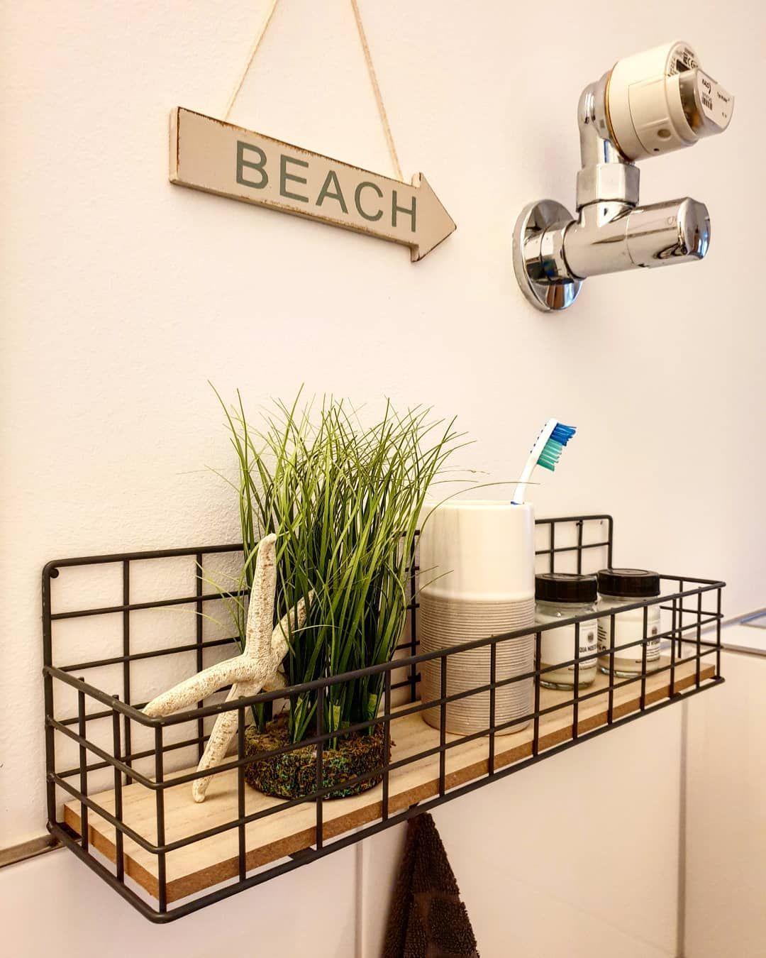 badezimmer bathroom regal regalborte maritim deko dekoration ...