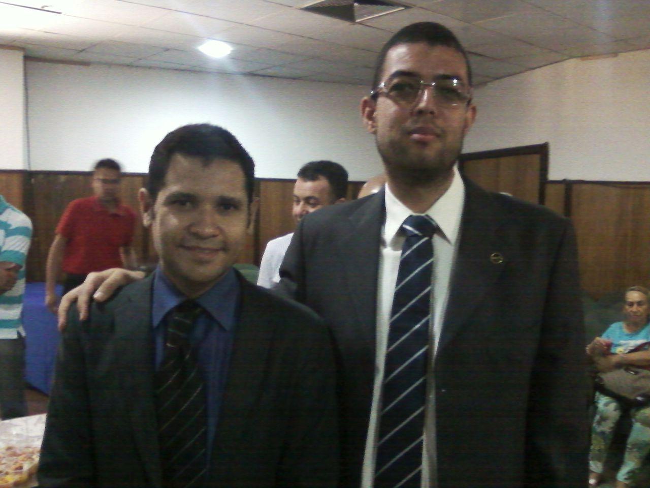 Dr. Alessandro, chefe de gabinete do Vereador João Mendes de Jesus.