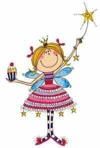 Fairy birthday. Me with my stars