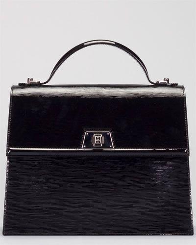 f844af7a687d8 Louis Vuitton Epi Noir Sevigne GM Electric Bag