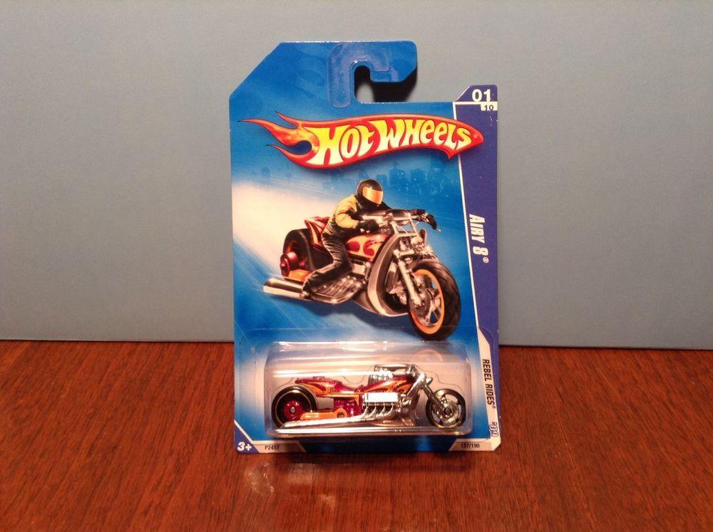 Hot Wheels Rebel Rides Airy 8 #137