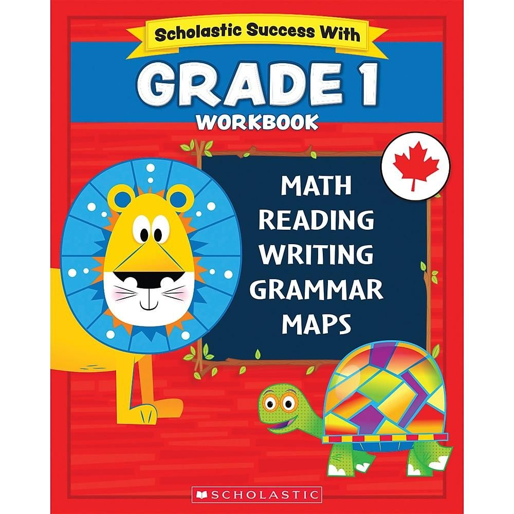 Reading Math Grammar And Maps Worksheets For Kids In Grades 1 To 4 In 2021 Motivational Sticker Scholastic Workbook [ 1000 x 1000 Pixel ]