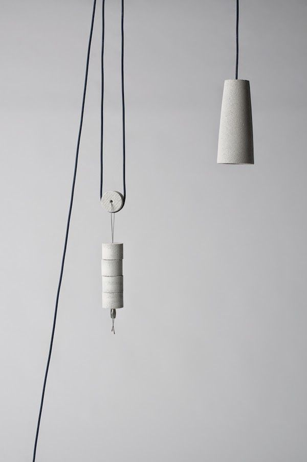 Fuori Mercato | Pendant lamps, Concrete and Lights