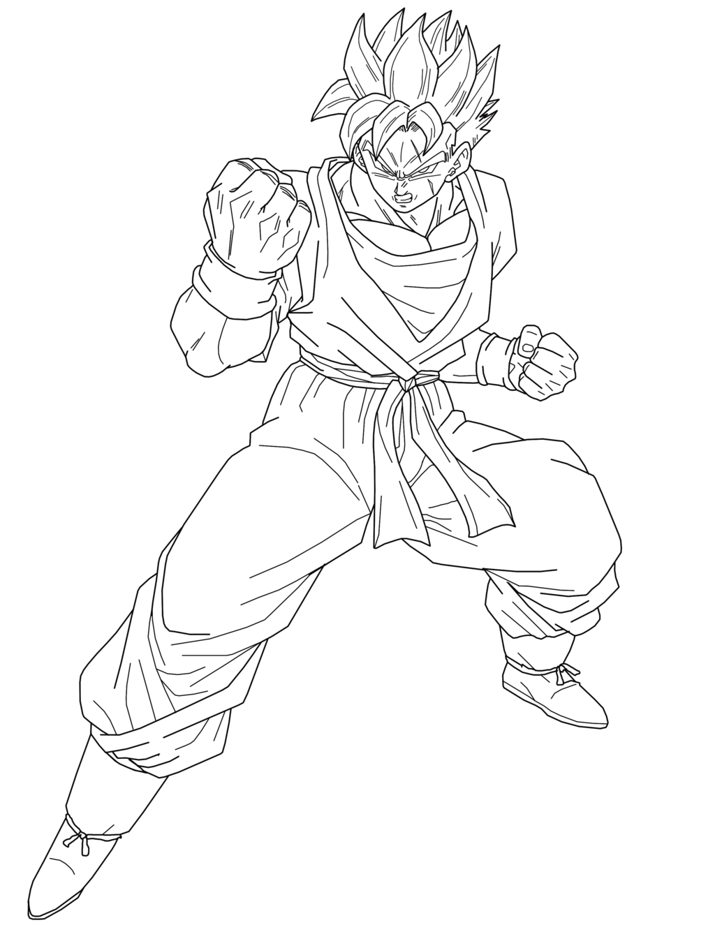 Future Gohan Coloring Pages Coloring Future Gohan Pages In 2020 Coloring Pages Coloring Pictures Dragon Ball Z
