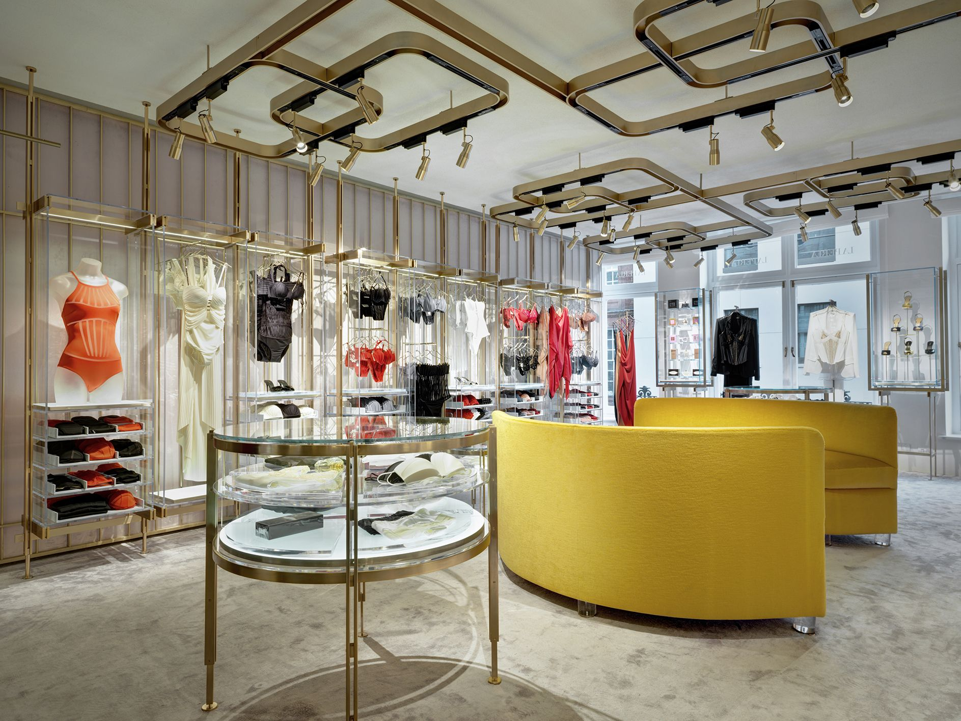 New concept La Perla boutique at Old Bond Street, London.   La ...