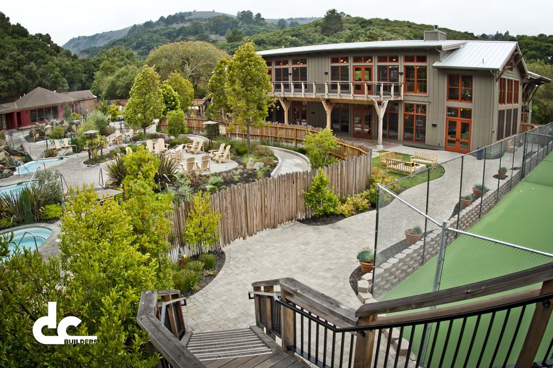 Timber Frame Athletic Facility In Carmel, California - DC