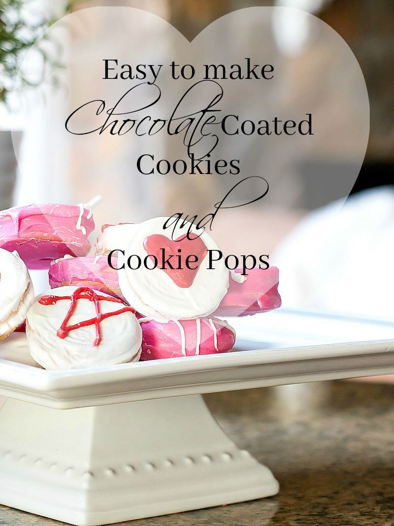 4 Step Chocolate Coated Cookies - Duke Manor Farm
