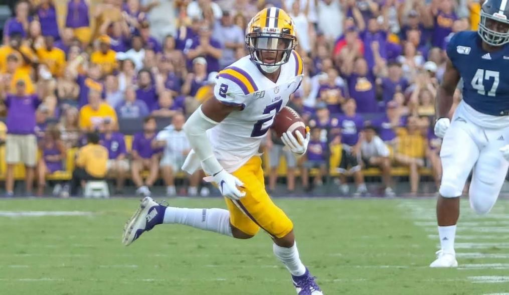 Lsu S Justin Jefferson Sits As Pff S Highest Graded Wr In The Nation Lsu Football Report Lsu Lsu Tigers Football Lsu Football