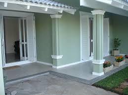 Resultado de imagem para fachadas de casas color verde - Casas color verde ...