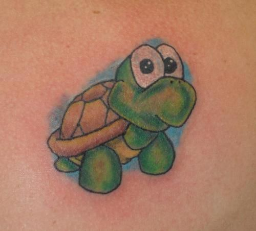 Cartoon Turtle Tattoo Designs Lairfan Org