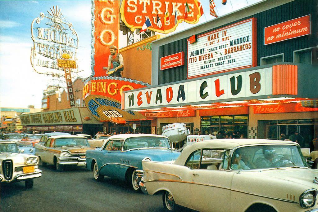 Vegas. Golden years.   Old Vegas   Pinterest   Vegas, Nevada and ...