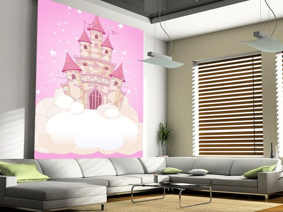 Fairy Castle Wall Mural Wall murals Castles and Wallpaper