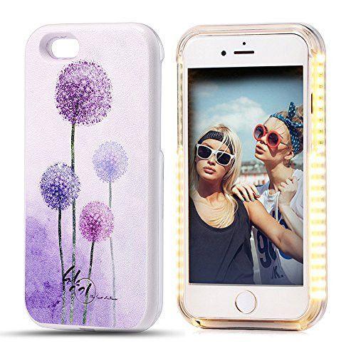 LED Light Up Luminous Selfie Phone Case Illuminated Back Cover for Apple iPhone 6 / 6S Plus