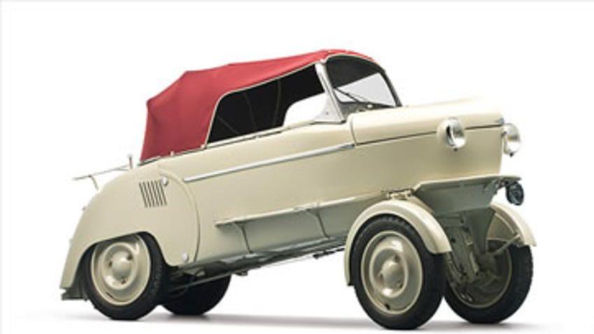 REYONNAH  1951 El auto buscaba ahorrar espacio para estacionarse.  (Foto: Cortesía CNNMoney.com)