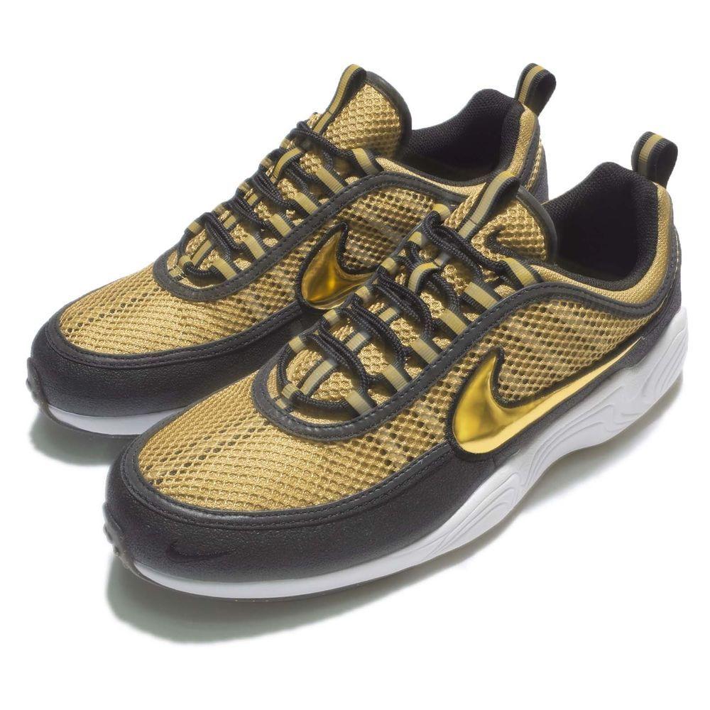 new arrival 17db3 b5237 Nike Air Zoom Spiridon Metallic Gold Classic Men Running Shoes 849776-770  S/N: 849776770 Color: METALLIC GOLD/METALLIC GOLD Made In: Vietnam  Condition: ...