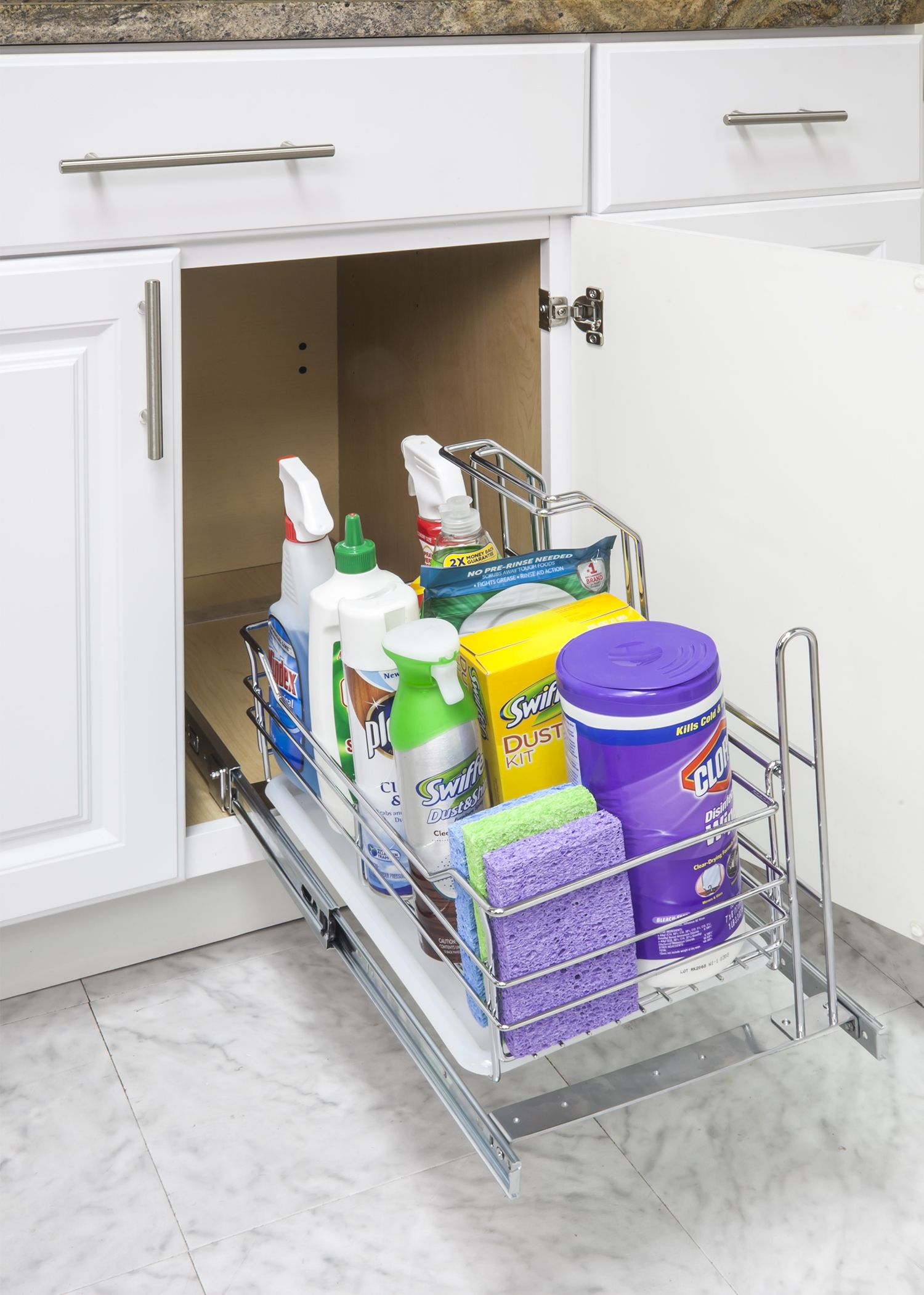 Organize Your Kitchen in 11 Minutes or Less Easy install cleaning