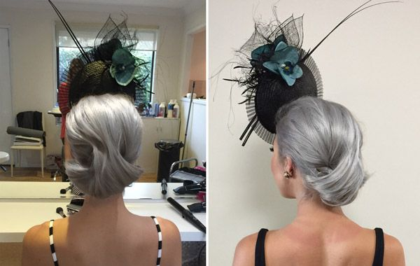 Races Hairstyles With Fascinators Hair Ideas For Race Day Fascinator Hairstyles Hair Styles Race Day Hair
