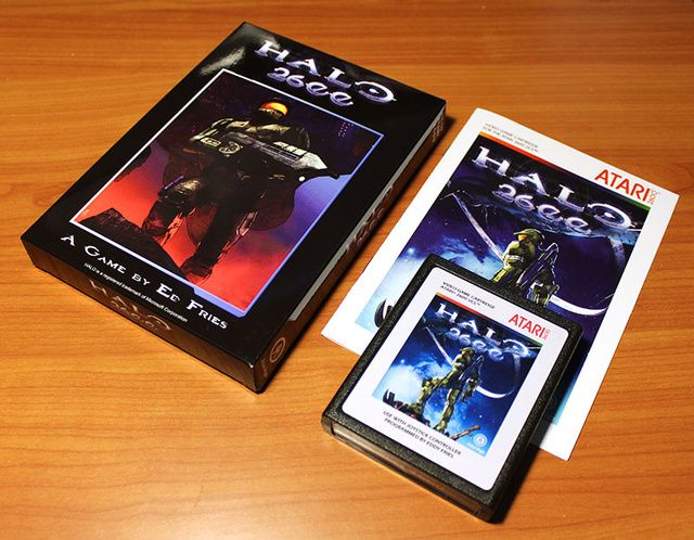 Play Halo S Atari 2600 Port With This Cartridge Now On Sale Halo Game Retro Video Games Games