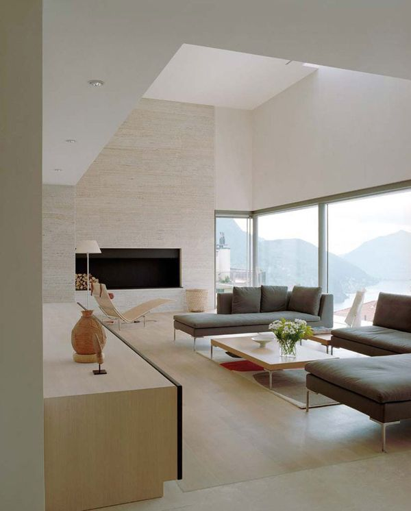 Striking Mountain Dwelling Above Lake Lugano Casa Fontana Deco Salon Decoration Maison Decoration Interieure