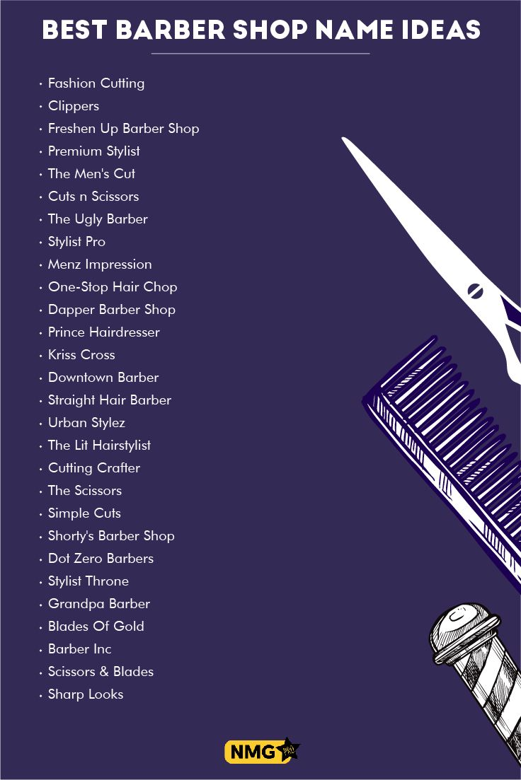 Generate some of the finest barber shop name ideas with