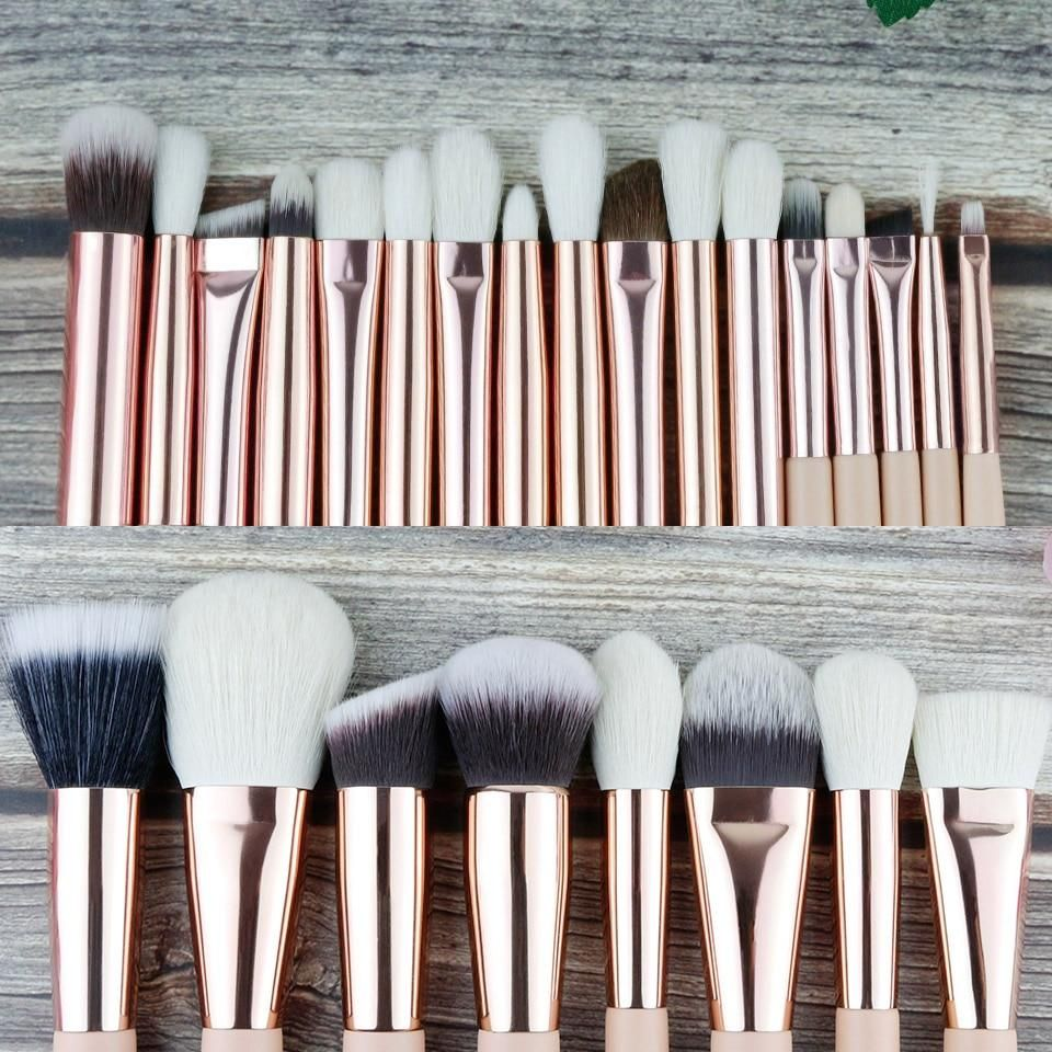 BEILI Beige Professional 25pc Makeup Brush Set in 2020