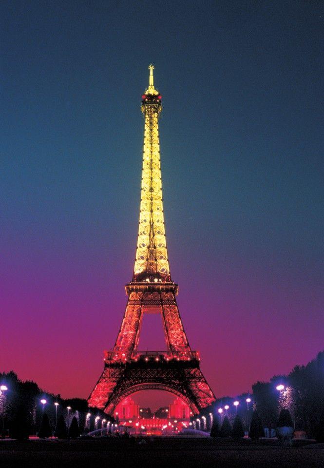 Wallpaper Menara Eiffel : wallpaper, menara, eiffel, Paris, Eiffel, Tower, Photokore, Malam, Hari,, Menara, Eiffel,, Gambar