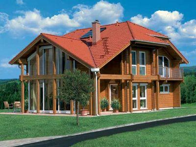 Consejos para construir casas de madera bioconstrucci n - Construir casa de madera ...