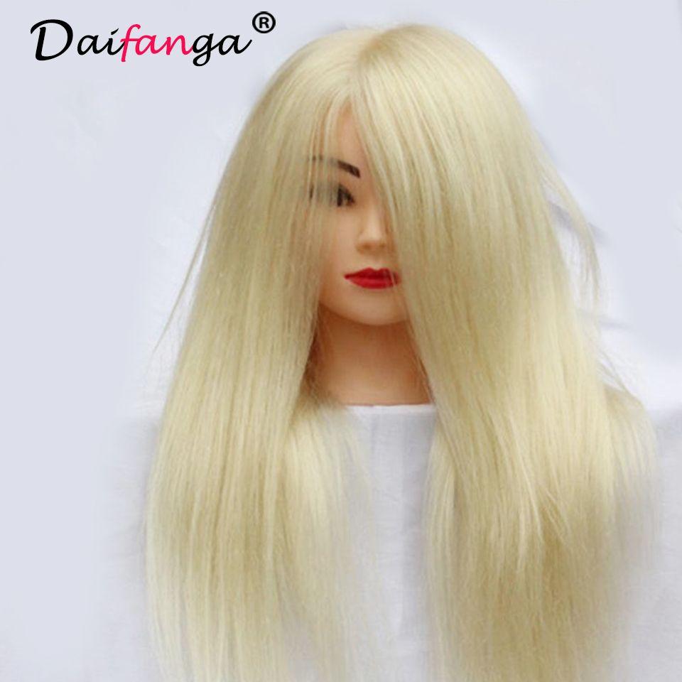 Professional Hair Styling Head Manikin Head With Human Hair Hairdressing Mannequin 90 Real Hair Mannequin Head Ha Hair Mannequin Human Hair Natural Human Hair