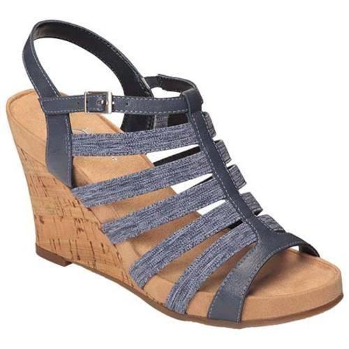 Womens Sandals Aerosoles Magic Plush Dark Blue
