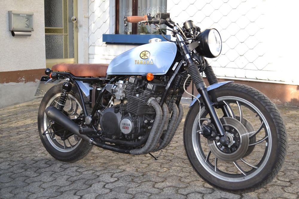 Yamaha XJ 600 Café Racer Umbau   Motor