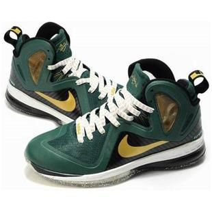 reputable site dbb1f 17d83 www.asneakers4u.com Nike LeBron 9 P.S. Elite Shoes Green White Black