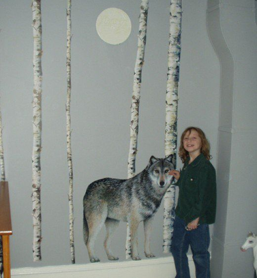 How To Decorate A Wolf Themed Bedroom