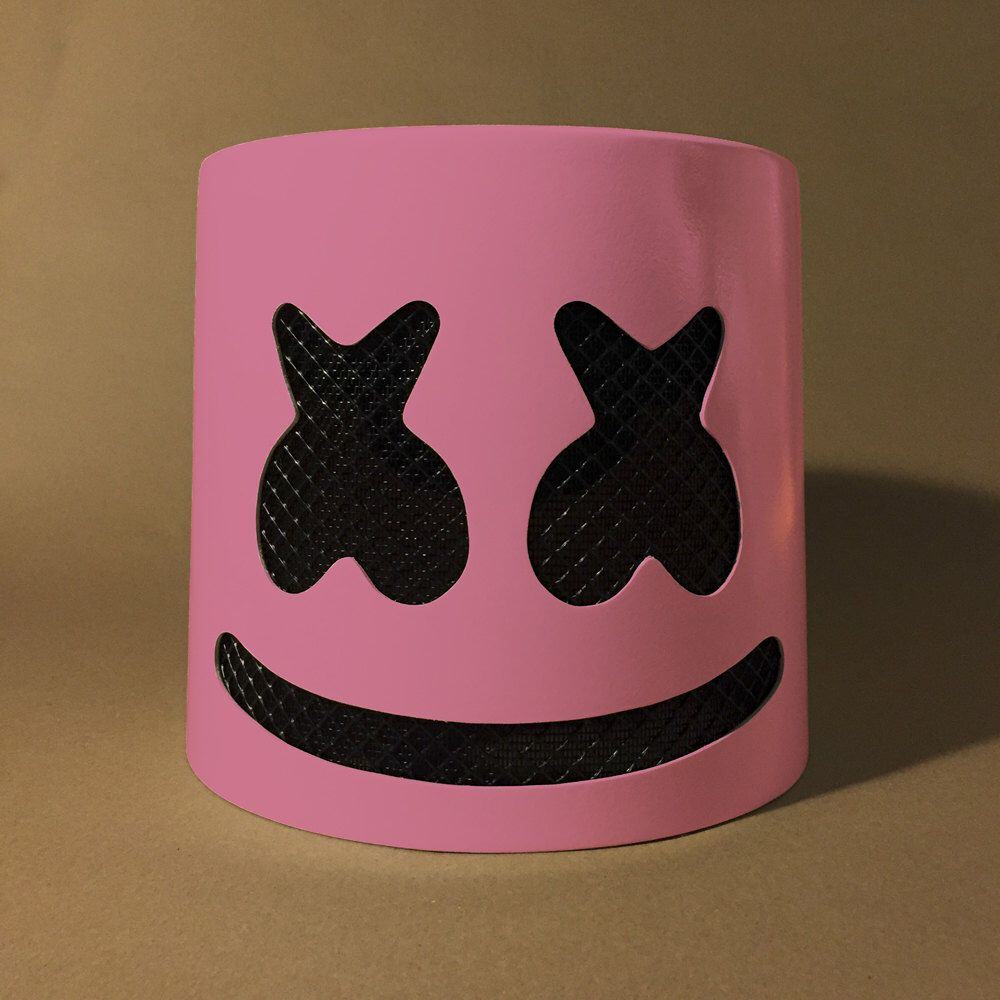 0d875545a Marshmello Helmet Pink Mask for sale. Join the MelloFamily and MelloGang  with this hand-