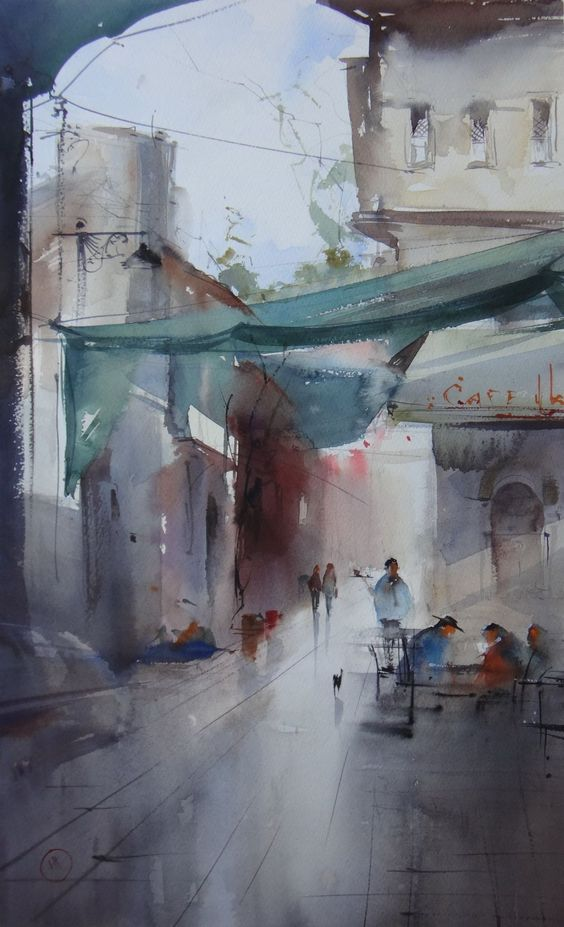 Ilya Ibryaev #watercolor jd: