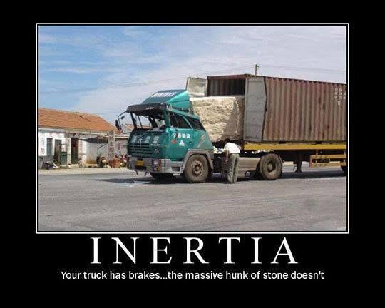 Inertia. . .