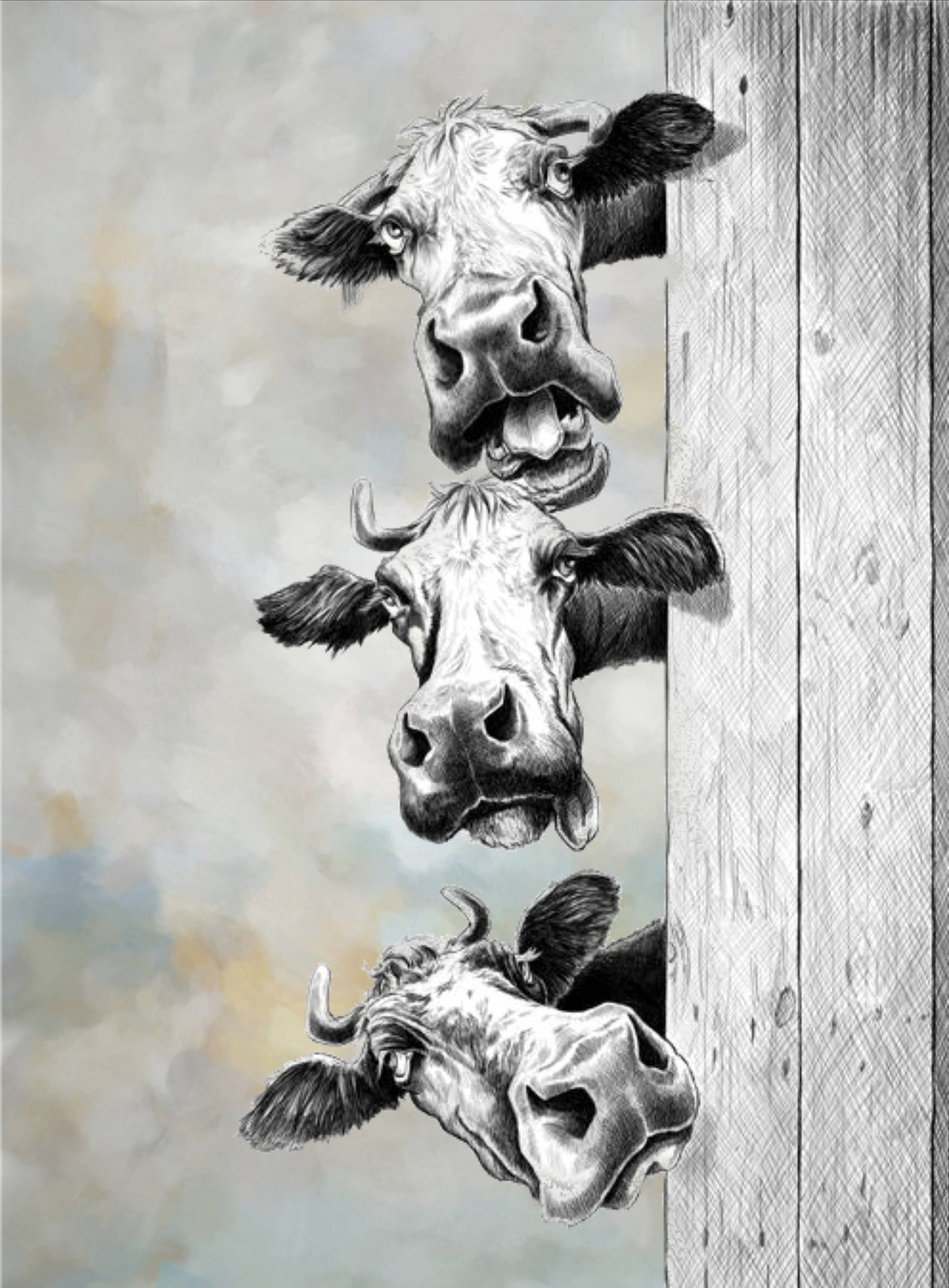 Cow Painting Cow Wall Art Cow Art Print Cow Print Cow