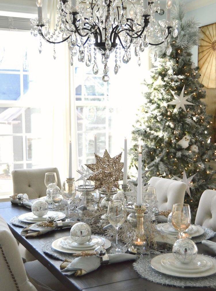 Christmas Table Setting | Christmas | Pinterest | Christmas décor ...