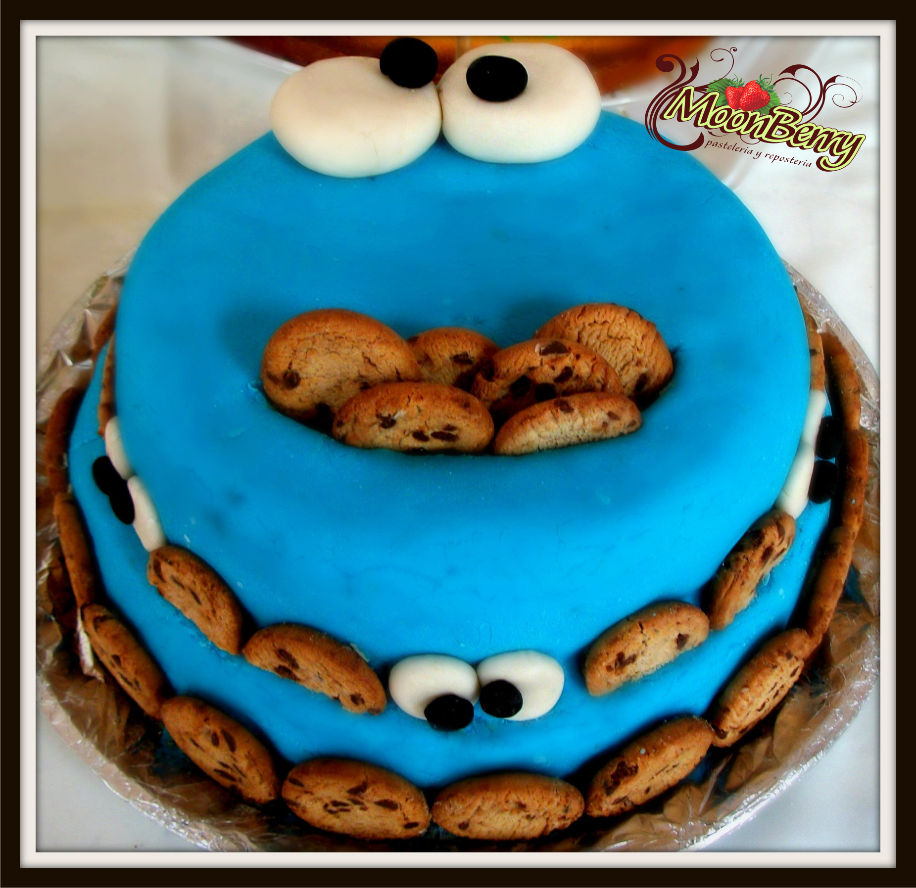 pastel del come galletas