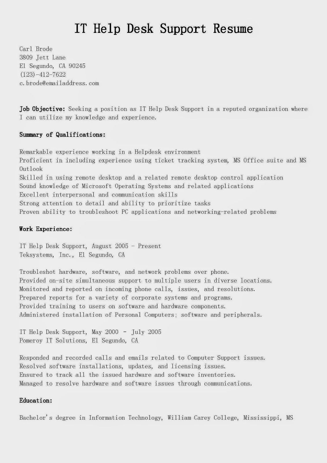 Help Desk Analyst Resume All Cat Lovers Should Check This Out ** Read More At The Image Link .