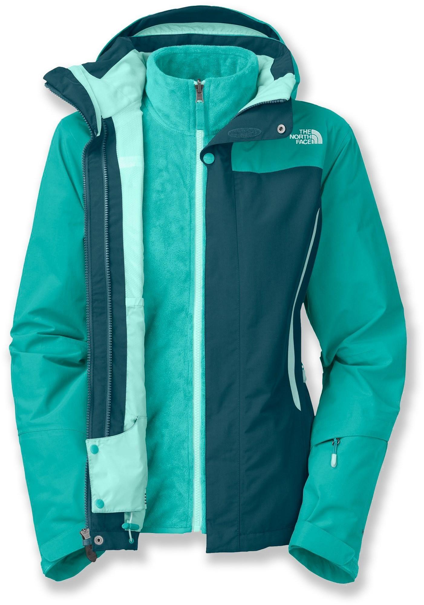 The North Face Kardiak Triclimate 3 In 1 Insulated Jacket Women S Rei Co Op Spor Giyim Mont Kadin [ 2000 x 1402 Pixel ]